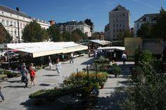 Kouter, flowermarket