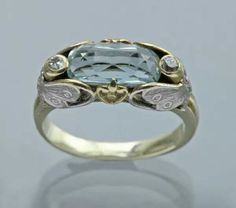 "Art Nouveau ""Butterfly"" Ring ca.1900"