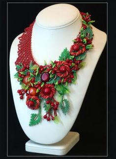 Flowers Embellished Beadworks - воспоминание о лете