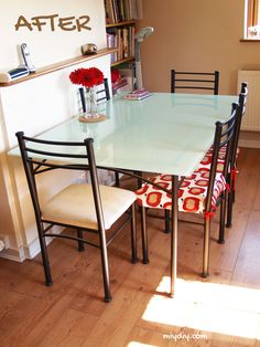 33 best painted table tops images furniture makeover painted rh pinterest com