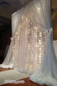 pipe & drape - wedding day rentals - 2025