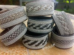 genuine Sami Lapland Swedish Bracelet model by GronstedtDesign