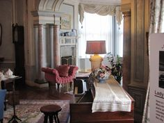 a sitting room Oversized Mirror, Castle, Room, Furniture, Home Decor, Bedroom, Rooms, Interior Design, Home Interior Design