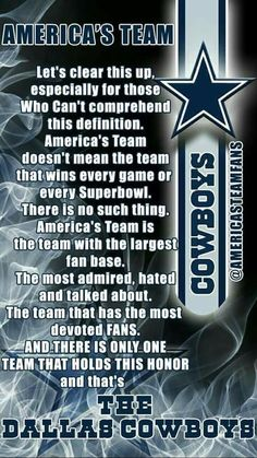 The Dallas Cowboys Dallas Cowboys Posters, Dallas Cowboys Decor, Dallas Cowboys Quotes, Dallas Cowboys Wallpaper, Cowboys Sign, Dallas Cowboys Pictures, Cowboy Pictures, Dallas Cowboys Football, Football Memes