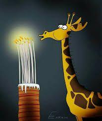 """Képtalálat a következőre: """"happy birthday giraffe"""""""