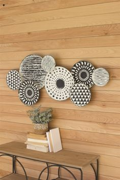 Add texture and interest to a wall with BSEID's selection of designer wall decor. Large Baskets, Baskets On Wall, Wall Sculptures, Sculpture Art, Sugarboo Designs, Pressed Metal, Wood Fish, Face Design, Wall Decor