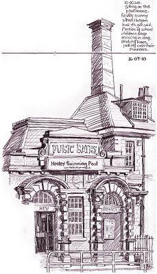Urban Sketchers: Lynne Chapman