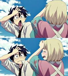 Cute Rin and Shiemi*-* Blue Exorcist
