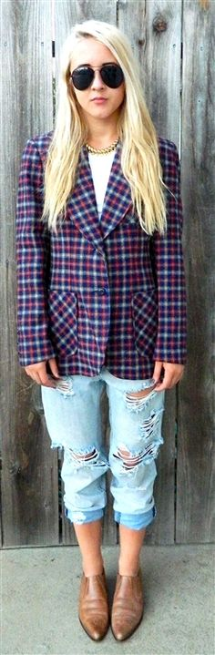 this tailored vintage plaid wool jacket is to die for. available now on the site... vintage clothing for men and women at super thrifty prices