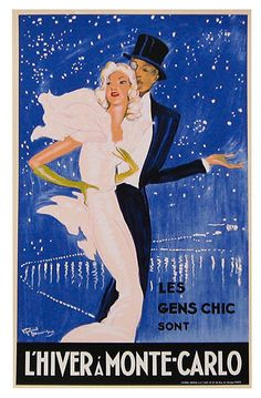 One Kings Lane - Life of the Party - Domergue, L'hiver à Monte-Carlo