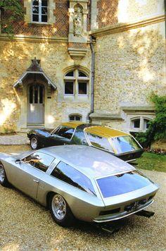 LAMBORGHINI FLYING STAR II TOURING 1966 FERRARI 330 GT VIGNALE 1968 . A Sunday drive perhaps...