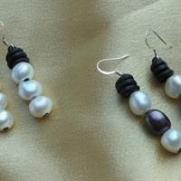 Drop Pearl Earrings from Treasures by Lynn