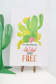 Wild & Free Cactus Party | Birthday Party Ideas | Birthday Party | Birthday Party Decorations | #birthday #partyideas #birthdayparty #partydecor | www.laurenlashdesigns.com