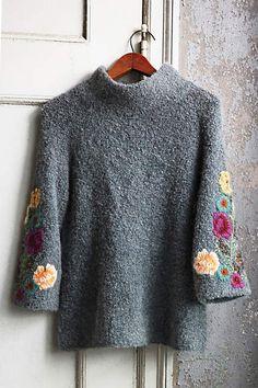 Rosevine Sweater Tunic