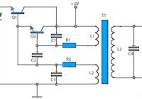 Low power inverter schematic are only use 9 components , one of which IC 556 , TIP120 NPN Darlington transistor.And turns 10 to 16 Vdc into 60 HZ, output 115 V square-wave power to operate ac equipment up to 25 W