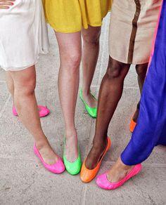 #Tieks Ballet Flats #Neon