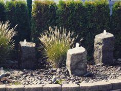 """Beautiful October Fountains! #fall #liquidartfountains #yard #landscapedesign #remodel #landscaper"""