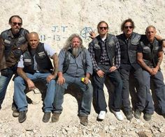 Sons of Anarchy.... Samcro....Chibs....Happy....Bobby....Jax....Tig.....Juice