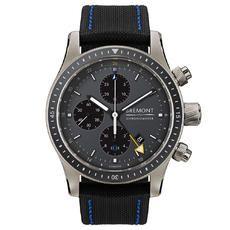 Auction target: $148.04 | BREMONT BOEING 247 TI-GMT AUTOMATIC CHRONOGRAPH MEN'S WATCH