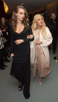 Cara Delevingne and Ellie Goulding Whip Up a High-Fashion Carnival in London