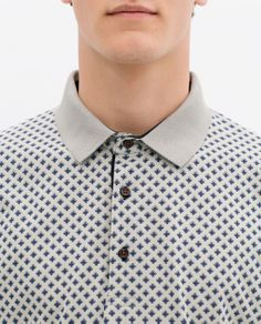Image 4 of PRINTED POLO SHIRT from Zara