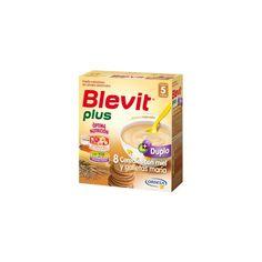 311164 Blevit Plus Duplo 8 Cereales con Miel y Galletas - 600 gr.