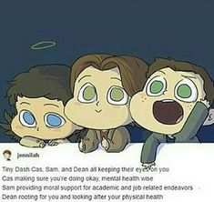 Castiel Sam Dean supernatural