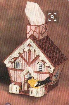 Birdhouse TBC (see House Tissue Box Cover)
