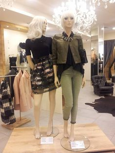 #gonna fiori #black and pink #giacca  #pantaloni #green
