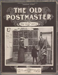The Old Postmaster .I HOPE YOU'LL FOLLOW ANY OF MY 5 GREAT BOARDS CONCERNING THE POST OFFICE MAILMEN VEHICLES MAILBOXES AND OTHER THINGS Anthony Contorno Sr