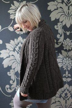 "Next on my list to knit: ""Aidez""  knit by baarameweleeds'  -  Linda Broughman via Iwona Eriksson"