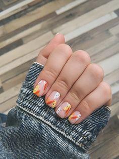Pastel Nails, Cute Acrylic Nails, Cute Nails, Perfect Nails, Gorgeous Nails, Stylish Nails, Trendy Nails, Nagellack Design, Funky Nails