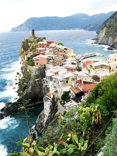 Cinque Terre. My favorite place I visited in Italy. I would wander around those little villages all day.
