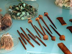 Spindles (and shuttles?)  Period: Middle Kingdom Dynasty: Dynasty 12 Reign: reign of Amenemhat I, early Date: ca. 1981–1975 B.C. Geography: Egypt, Upper Egypt; Thebes, Southern Asasif, Tomb of Meketre (TT 280, MMA 1101), Serdab, MMA 1920 Medium: Wood