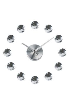 DIY Diamond Clear Wall Clock - Clear by Mix it Up with Modern Decor on @HauteLook