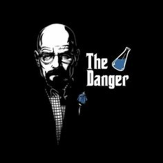 This Breaking Bad I Am the Danger shirt features Walter White as the Godfather of his world. Get the Breaking Bad Danger t-shirt for the fan in your life. Breakin Bad, Breaking Bad Art, Bad Memes, Heisenberg, Great Tv Shows, Cartoon Wallpaper, Hd Wallpaper, Wallpapers, The Godfather