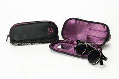Designer EYEWEAR Double layer bag Travel Helper Cosmetic Toiletry Bag Free shipping