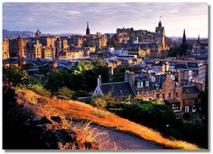 My favorite city in the world, Edinburgh, Scotland
