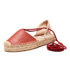 Leather Platform Gladiator Sandal