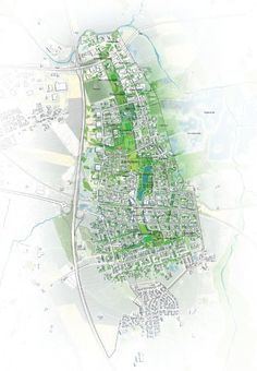 Vinge Masterplan Proposal / EFFEKT + Henning Larsen Architects
