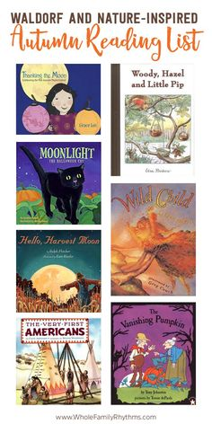 Book Recommendations for Harvest Time, Halloween, Samhain, Michaelmas and Thanksgiving