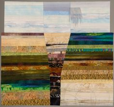 "Rift Valley, 40 x 43"", by Laura Jaszkowski  | SAQA"