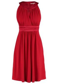 Jerseykjole - red