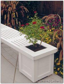 DIY: Building a Garden Bench Planter