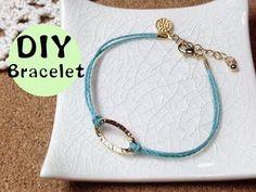 簡単ハンドメイド アクセサリー★コードブレスレット 作り方 Let's make a cute accessories!! In this channel, I will show you how to make accessories that anyone can easily make. 欲しいアクセサリー...