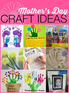 Mother's Day Craft Ideas for Kids