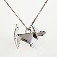 Sautoir Chien - Sautoirs - origami-jewellery