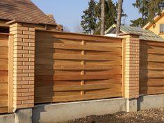 cool Кирпичный забор (57 фото): надежность, безопасность, эстетика