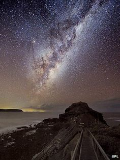 The color of the Milky Way