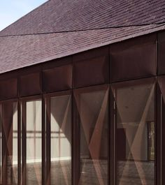 Kulturzentrum in der Normandie, AAVP, fassade